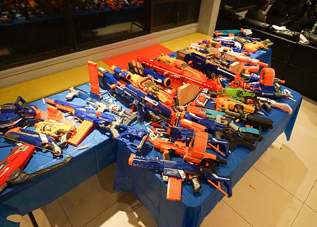 Deluxe 28 Nerf Gun Party (Ages 6+)